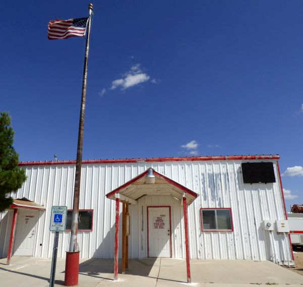 Dolan Springs disgusting fire station