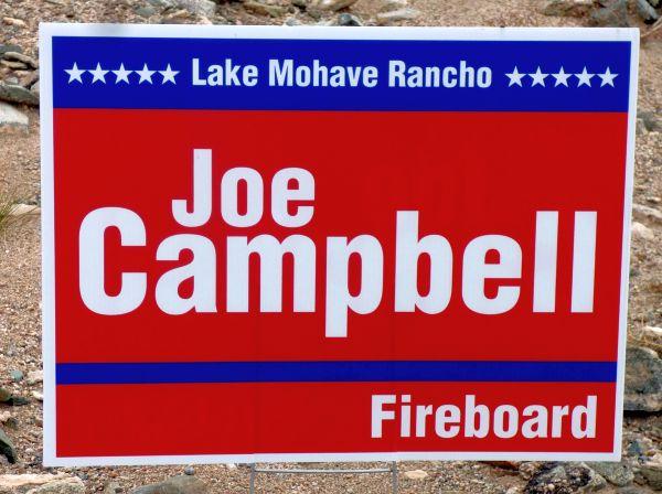 Campaign sign violation