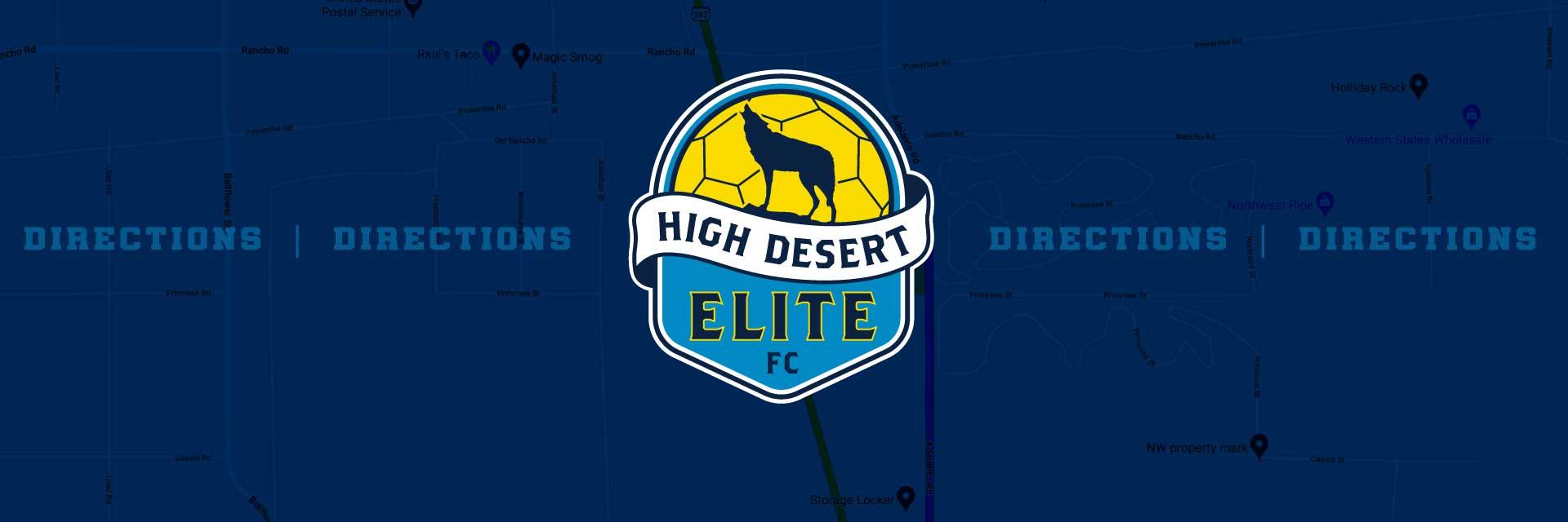 HIGH DESERT ELITE Directions