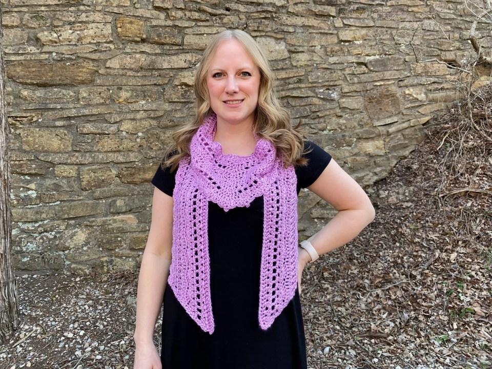 carmen scarf crochet pattern