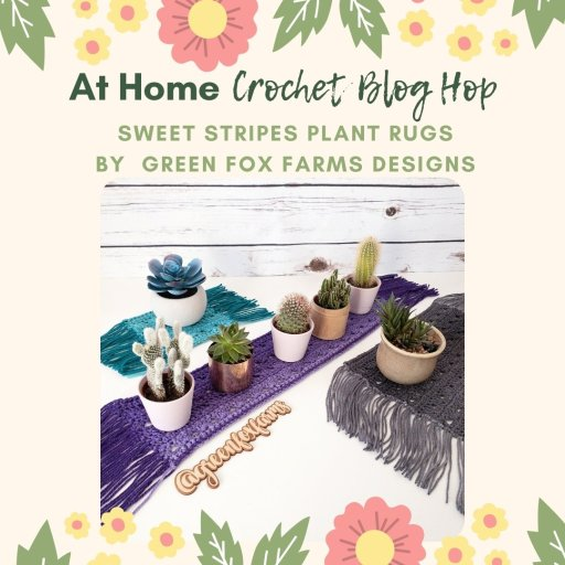 crochet plant rugs