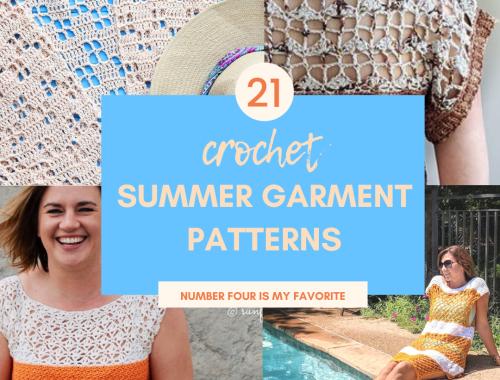 crochet summer garment high desert yarn