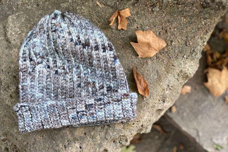 raven ribbed crochet beanie pattern high desert yarn