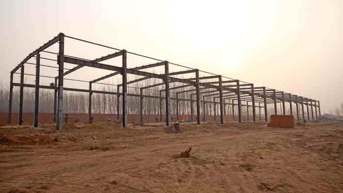 Steel Construction Building