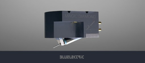 Blue electric Magic Diamond Back
