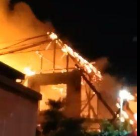 吹田市 原町 火災 火事 停電