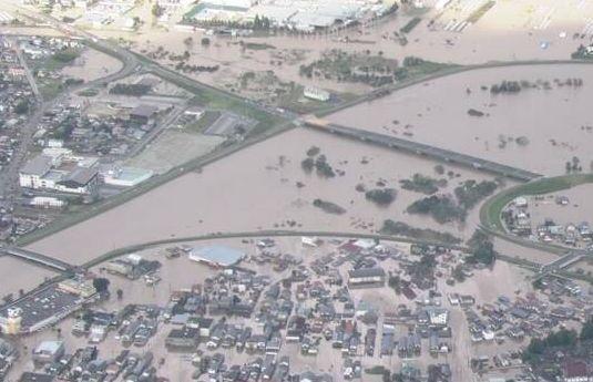 阿武隈川 氾濫