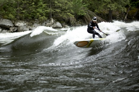 Brittany Parker Pipeline River Surfing