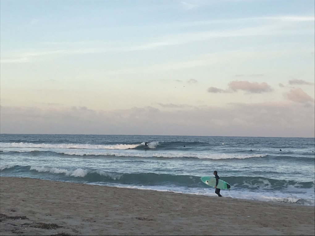 Plenty of waves on tap - South Florida