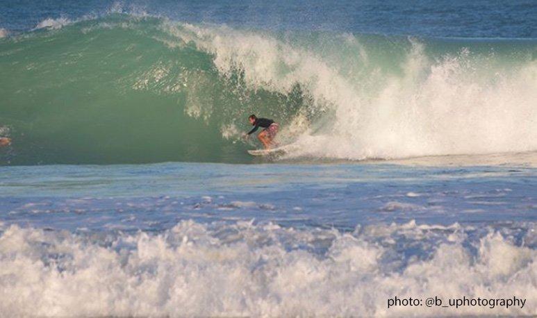 Winter Storm Riley - South Beach Barrel Setup or Oblivion