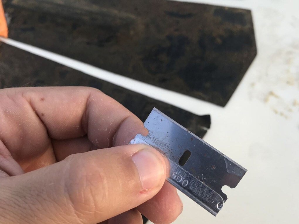 Surfboard Traction Pad Removal - All Purpose Blade