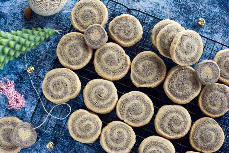 image of festive whole grain sourdough pinwheels