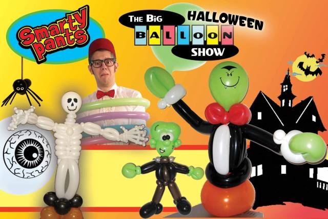 smarty-pants-and-miss-dena-the-big-balloon-show-halloween-chicago-illinois
