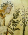 Simone Martini, Archangel Gabriel, Annunciation, 1333, Florence, Uffiizi.