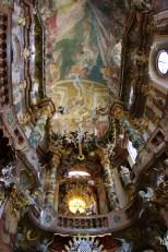 Asamkirche, ceiling fresco