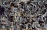 Jasper Johns, Grey Map, 1964, Los Angeles, Museum of Contemporary Art