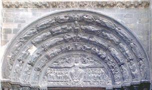 Last Judgement Tympanum, c. 1140, St-Denis