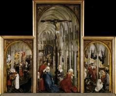 Rogier van der Weyden, Seven Sacraments Altarpiece, 1445-50, Antwerp, Koninklijk Museum voor Schone Kunsten.