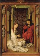 Workshop of Rogier van der Weyden, Nativity, c. 1445, Granada, Capilla Real.