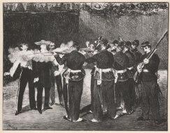Édouard Manet, La Mort de Maximilien, 1868, Bridgeman Art Archive.