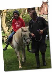 enjoying a pony ride family friendly holidays cornwall