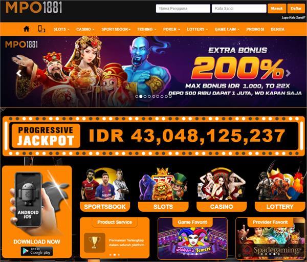 Situs Slot Online Deposit Pulsa MPO1881