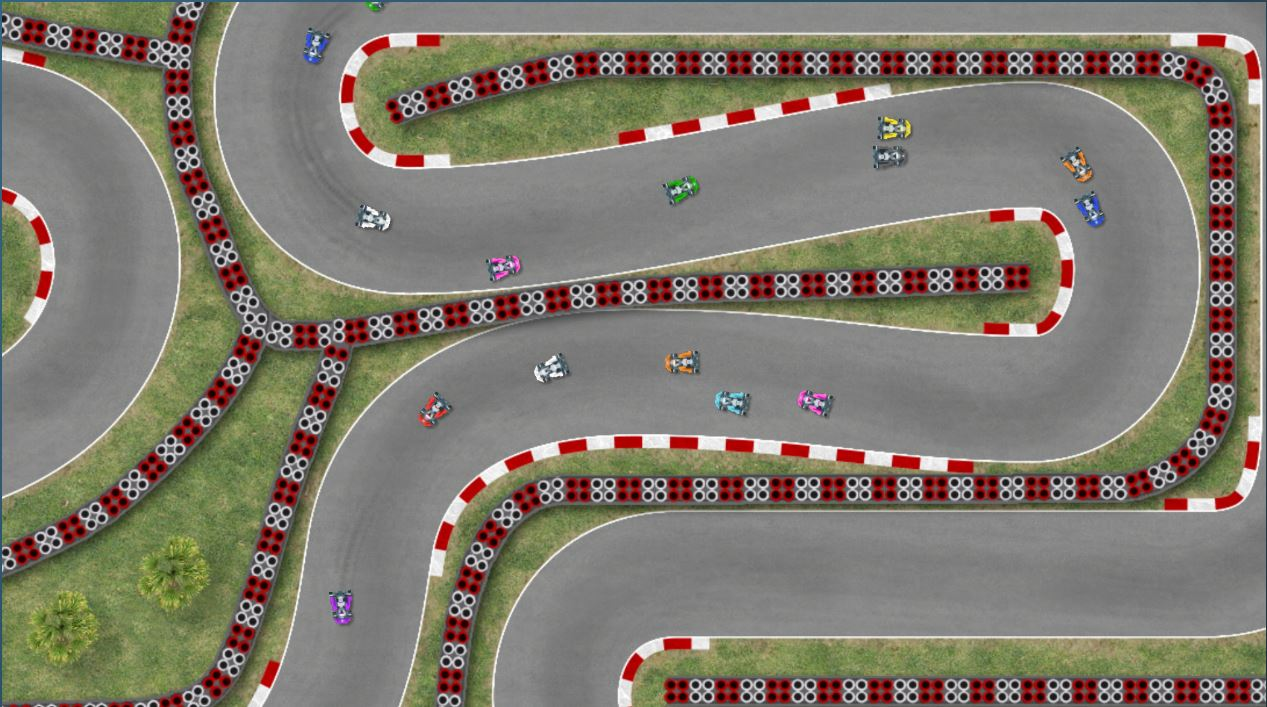 ultimate racing 2d