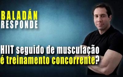 HIIT concorre com Musculação?