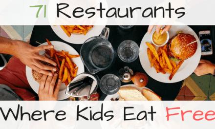 71 Restaurants Where Kids Eat Free