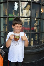Butter Beer was better than we imagined!