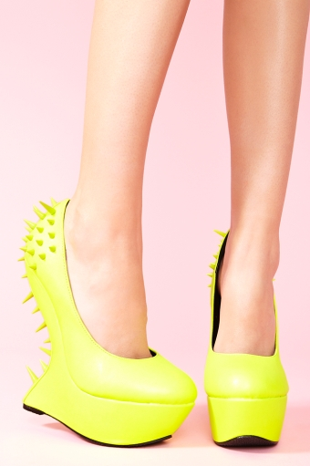spike platform shoes