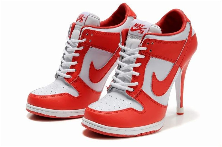 Do Nike make high heel sneakers or are they all fakes