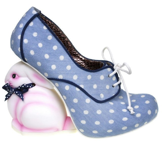 Rabbit high heels by Irregular Choice