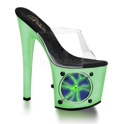 Pleaser light up high heels