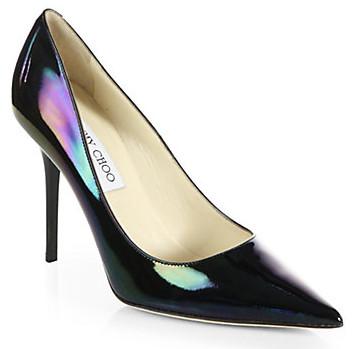 Jimmy Choo hologram shoes