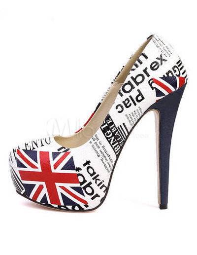 British flag shoes
