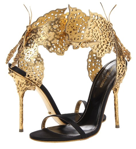 butterfly high heels by sergio rossi