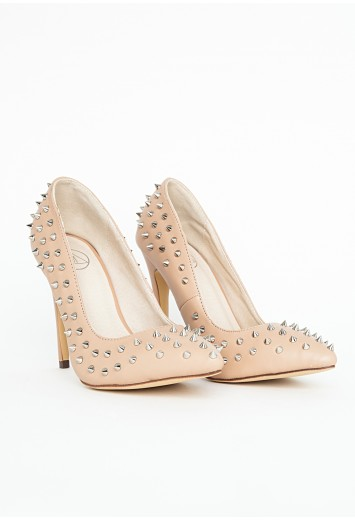 Nude Spike Shoe