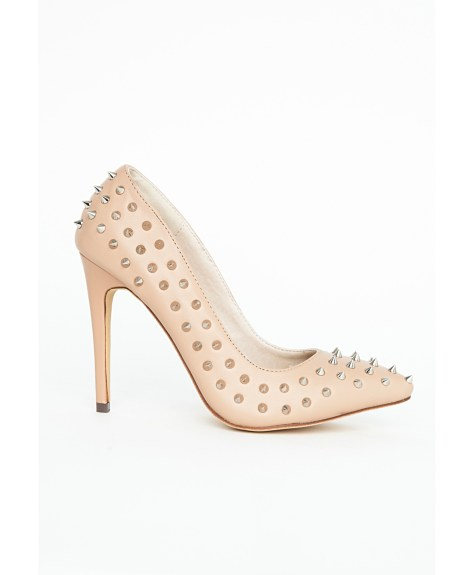 Studded High Heels by Missguided
