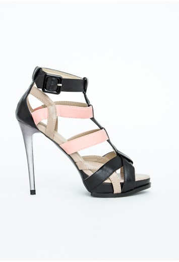 Missguided Contrasting High Heels