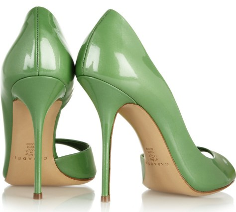 eep toe d'Orsay high heels