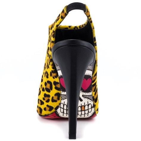 skull heels
