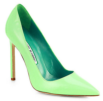 BB pump by Manolo Blahnik