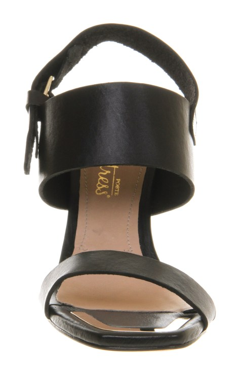 High Heel Black Sandal