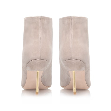 Nubuck ankle boot