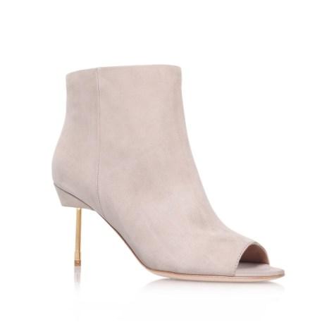 Peep Toe Ankle Boot