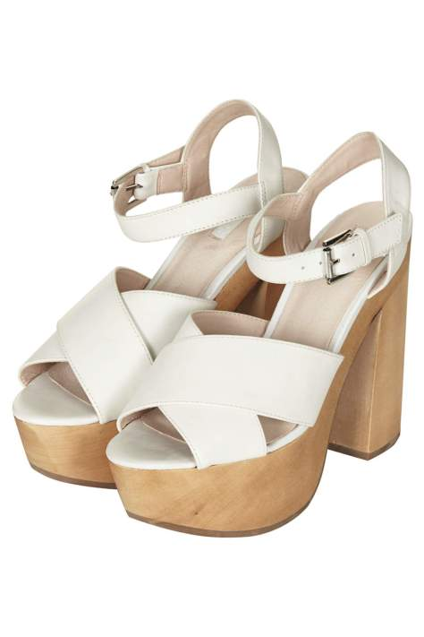 Topshop High Heel Platform Shoes