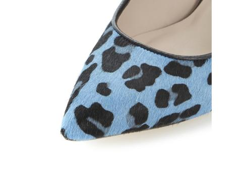 Anabel High Heel Blue Courts