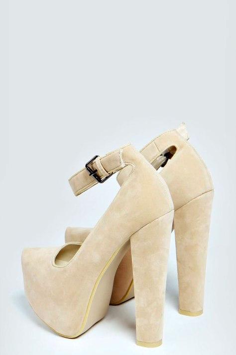 Boohoo Platform High Heel Shoes