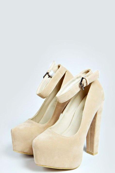 Platform High Heels with Straps
